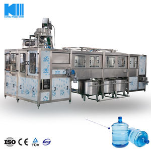 Automatic 5 Gallon Barrelled Water Filling Line / Machine