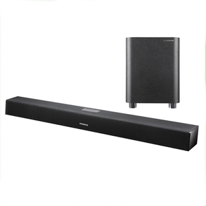 2016 New 2.1 Silm Soundbar Speaker Bluetooth Sound bar with Wired Subwoofer for LCD TV