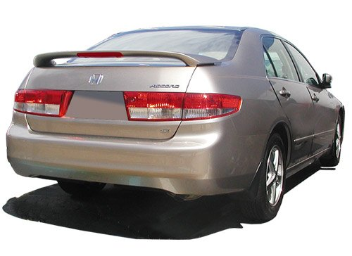 03-05 HONDA ACCORD 4DR FACTORY STYLE SPOILER REAR DECK WING PRIMER FINISH