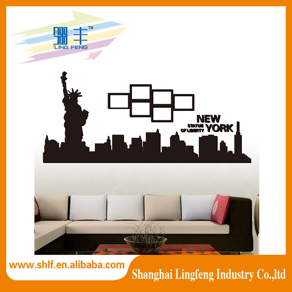 Currently stock world map wall sticker