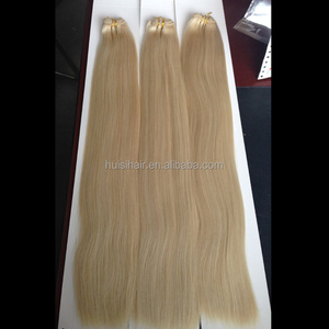 New peerless hair weave no tangle free package dropshipping overnight shipping thick ends 100g/pack blonde hair