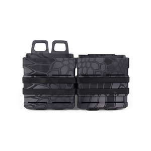Camo Tactical ABS 7.62 FAST magazine pouch for molle system bullet proof vest