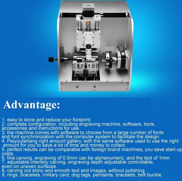 cnc inside and outside ring engraving machine laser ring engraving machine