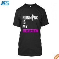 Wholesale New Running cotton spandex T-Shirt Fitness Motivation Sport stretchy Men's t Shirts