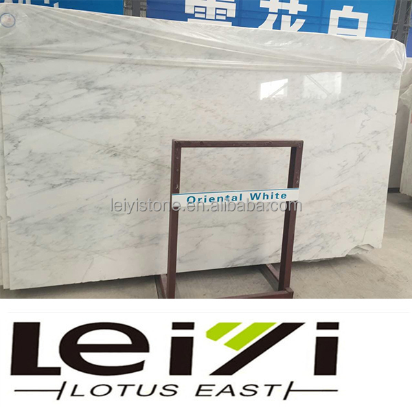 Good price oriental/easten white marble slab products