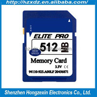 Camera memory card Hgh speed 512 MB memory sd 512 mb card class 10