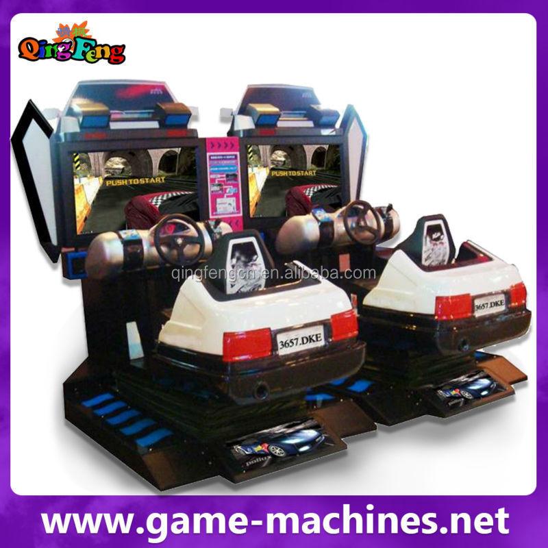 Qingfeng Car Racing Machinery Electronic Game Machine Boy Video ...