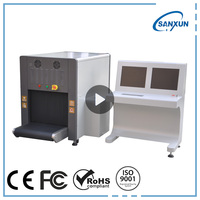 Luggage and buggage scanner x-ray machine security equipment