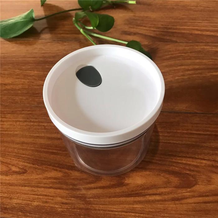 Di nuovo disegno caldo di vendita a buon mercato di plastica a secco contenitore di conservazione degli alimenti set con coperchio