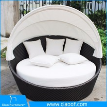 Best Selling Outdoor Furniture Daybed And Mattress
