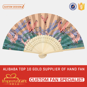 Easily Customized summer manual folding hand custom fan with your design