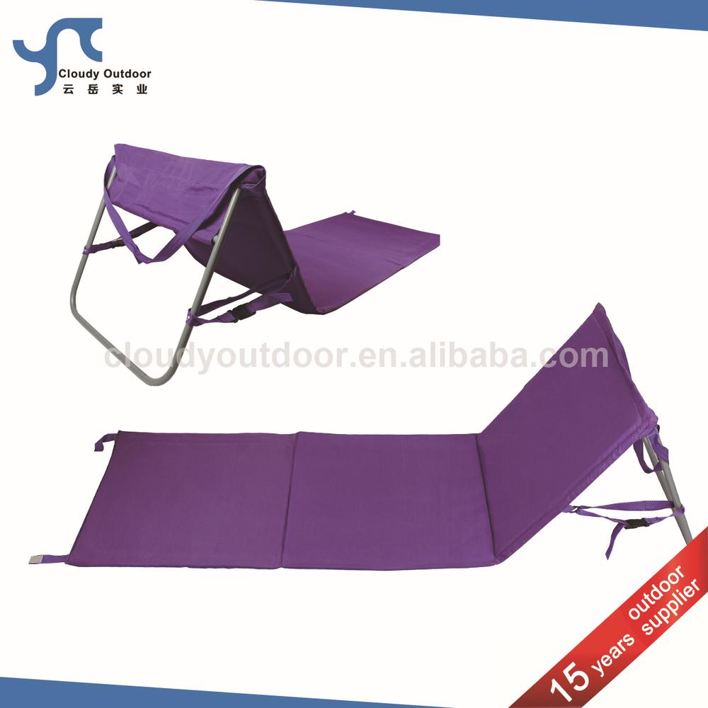 ext rieur pliable tapis de plage avec dossier chaise pliante id de produit 60014943561 french. Black Bedroom Furniture Sets. Home Design Ideas