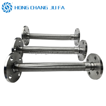 High pressure anti-vibration stainless steel flexible corrugated steam metal braided hose