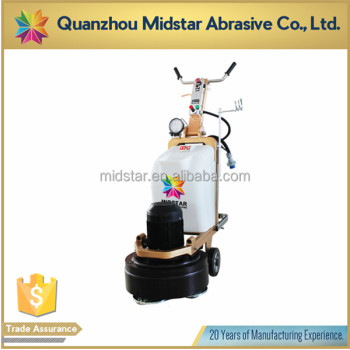 three phase concrete floor polishing machine