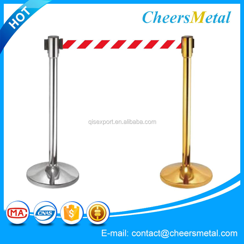 Wholesales rope barriers / queue line control stanchions