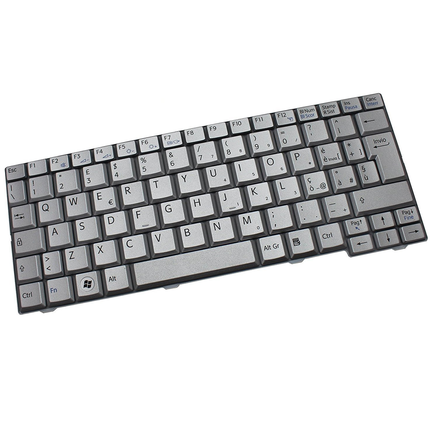 New Original Asus K70 K70IJ K51 Laptop US Keyboard 0KN0-EL1US02 04GNV91KUS00-2
