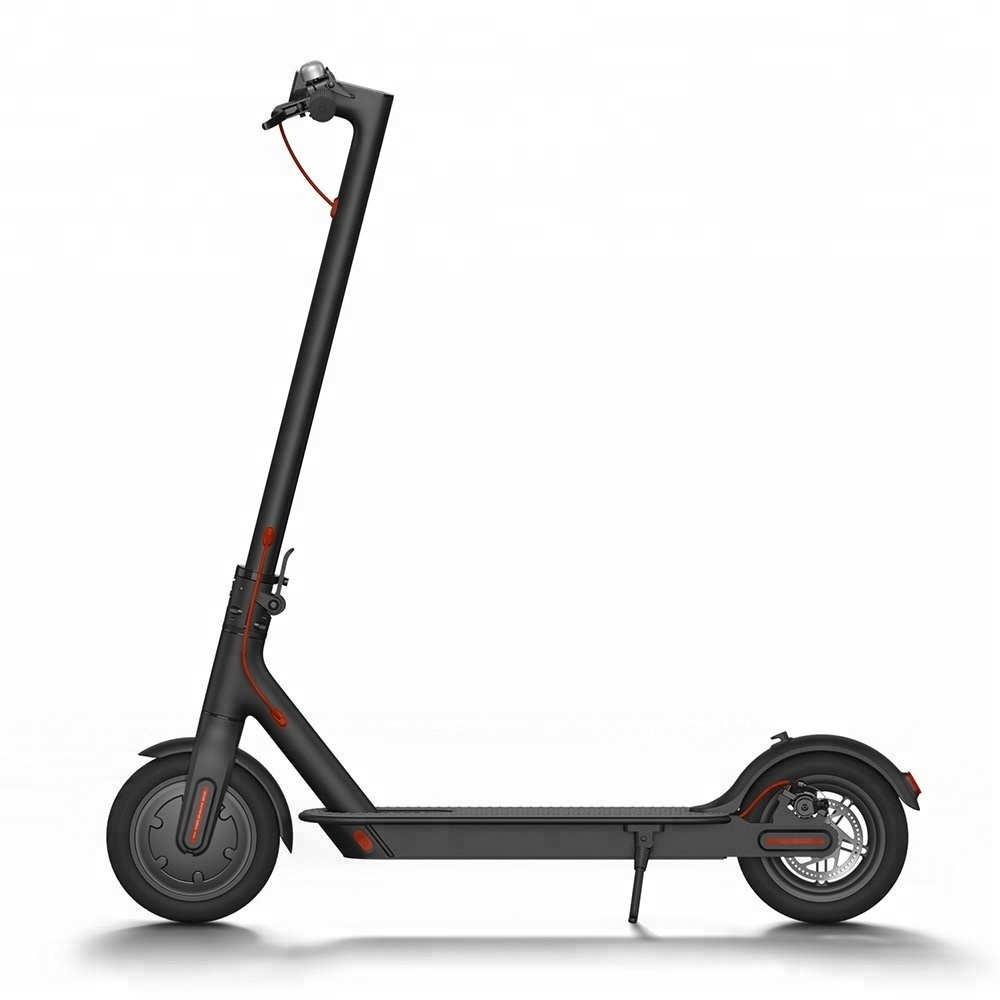 2019 Original Xiaomi Mijia M365 Smart Electric Scooter foldable mi lightweight long board skateboard 30KM mileage with APP, White black