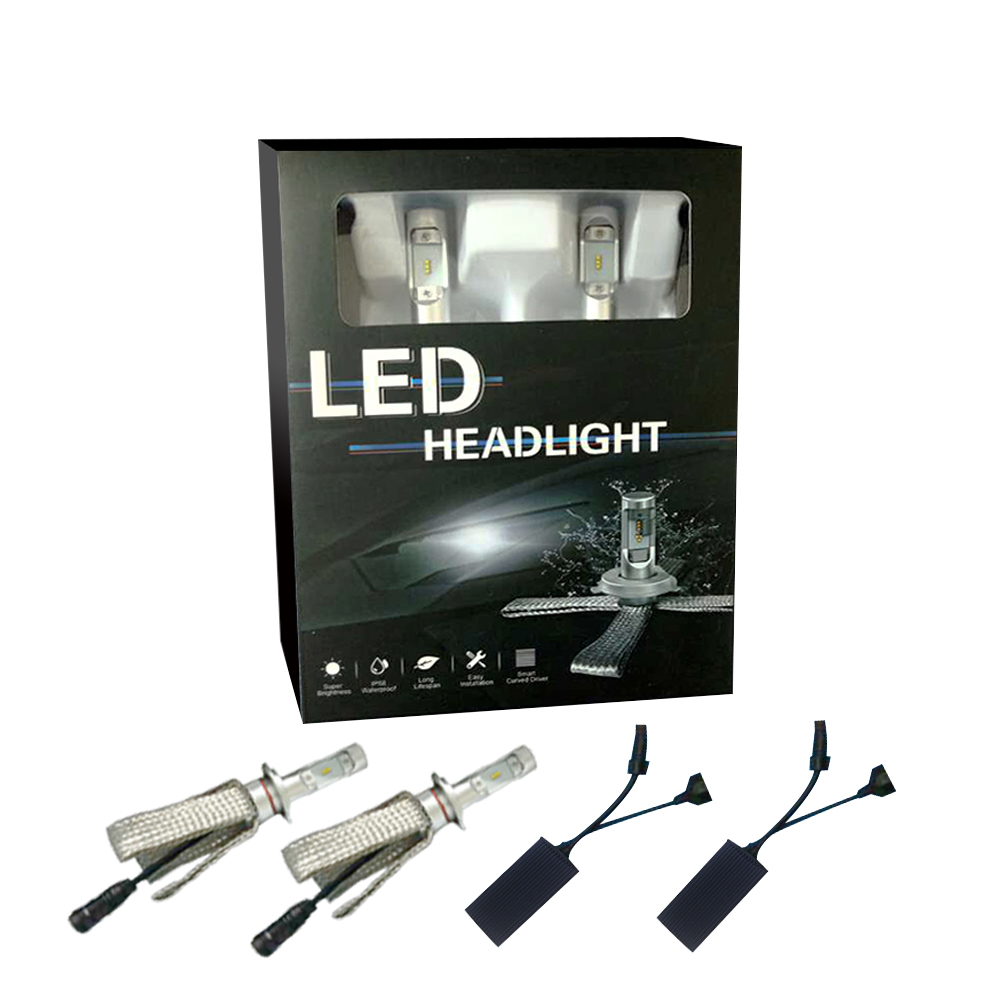 ATV UTV Truck car LED bulb 7s led headlight conversion H4 H7 H8 H9 9005 9004 LED headlight kit