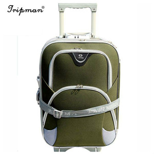 High Quality Cheap Carry-On Single Handle Trolley Stock Wheel Luggage Used Hotel Luggage