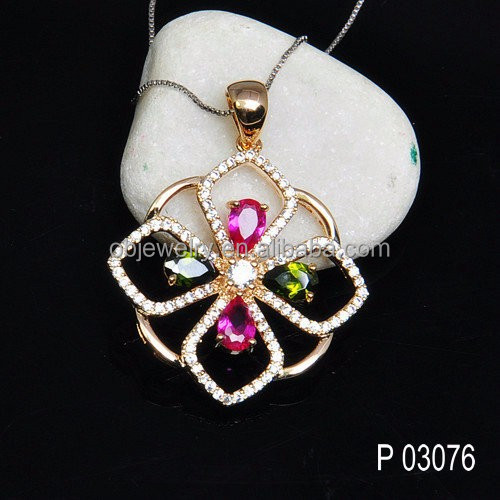 Australia style pendant 925 silver or brass Ruby stone jewelry wax setting