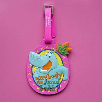 4e30086a661a Hippo Pink Lovely Id Card Luggage Tag For Souvenir - Buy Id Card Luggage  Tag,Cool Luggage Tags,Heavy Duty Luggage Tags Product on Alibaba.com
