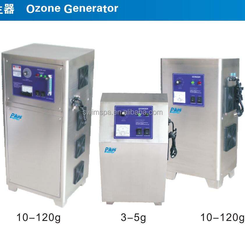 2016 100G/h ozone output high efficiency electrolytic Ozone generator for swimming pool