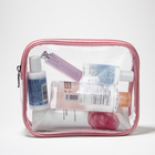 Eco Friendly PVC Zipper Cosmetic Pouch Clear Toiletry Bag