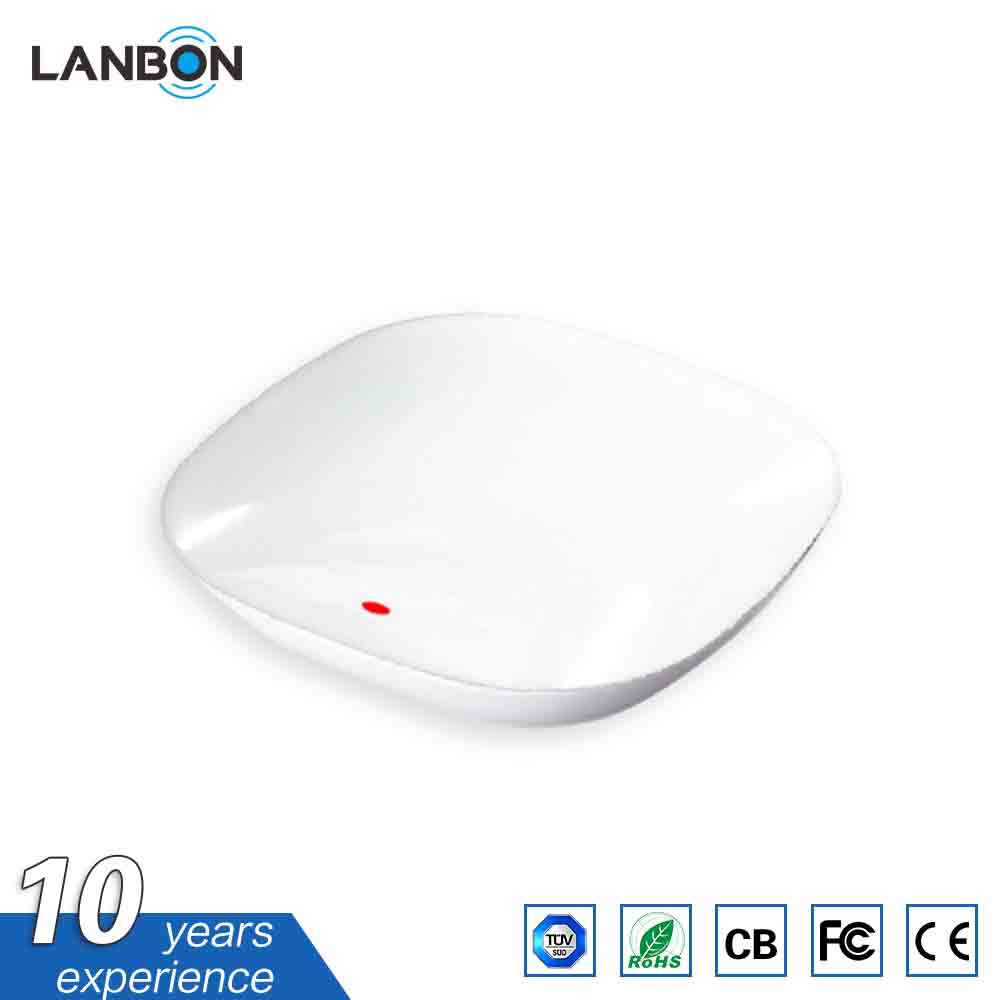 Lanbon Smart home WiFi IR Repeater Smart Remote Control home AC and TV APP switch compatible with Google Home and Amazon Echo