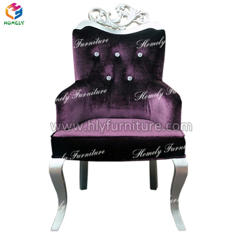 Beauty Nail Care Equipments Princess Queen French Style Salon Client Chairs