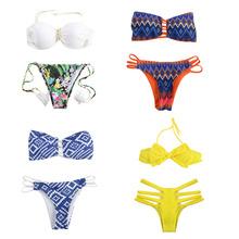 21 Styles! New Fashion Bottom Bikinis Beach Women Swimwear Swimsuit Ladies Bathing Suit Halter Sexy Bikini Set Swimwear