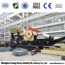 Mobile jaw crusher saled to more than 10 countries with high quality