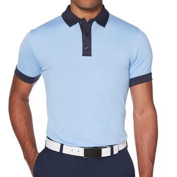 Hoge Kwaliteit Mannen Golf Polo Shirt Polyester Spandex Custom sublimatie polo shirt