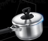 Wonderful quality high performance healthy cooking Great for Stainless Steel milk pan with Cover