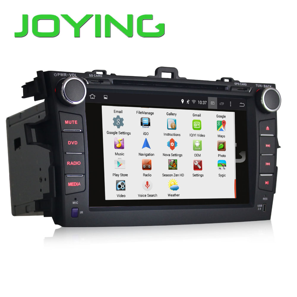 Joying touch screen 7'' Android 4.2 car radio multimedia for <strong>TOYOTA</strong> <strong>COROLLA</strong>+GPS+Canbus+USB+DVD