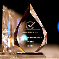 hot sale crystal shields and trophy MH-JB0029