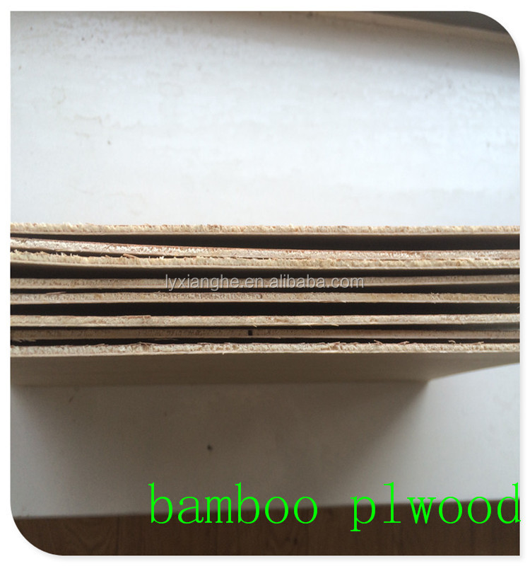 straight grain bamboo fancy plywood