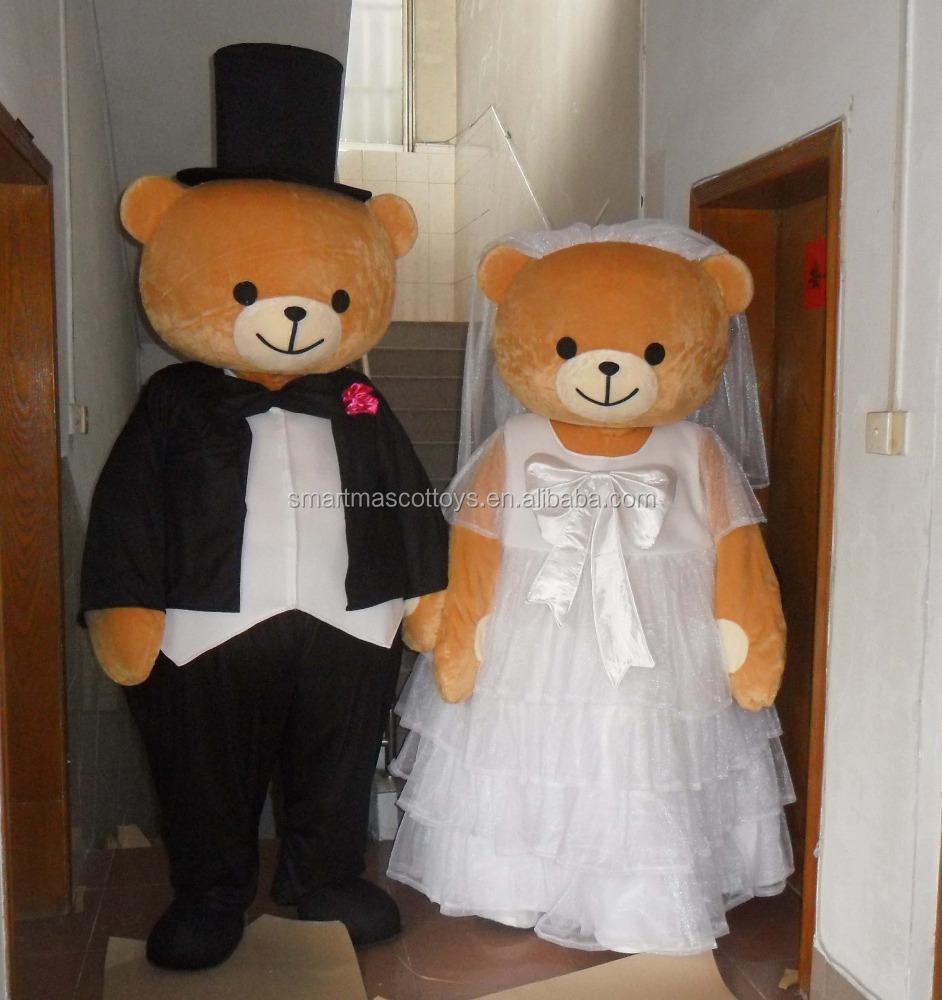 Groom Teddy Bear Costume Wedding Bear Mascot For Adults Buy
