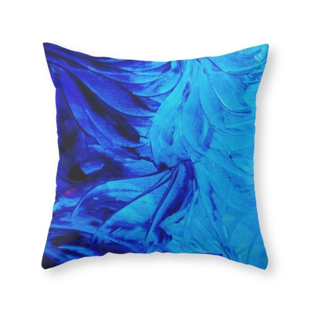 Cheap blue water flowers find blue water flowers deals on line at get quotations society6 petal pinwheels deep indigo blue royal blue turquoise floral pattern swirls ocean water flowers izmirmasajfo