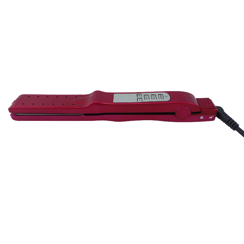 V66 The Wave Ceramic Flat Iron Best Straightener Choice For Hair With New Ionic Technology