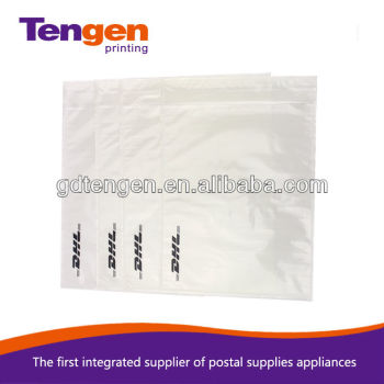 EMSDHL Invoice Enclosed Envelopes View Clear HDPE Film Invoice - Invoice enclosed pouches