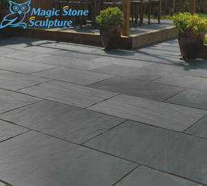 Stepping Landscaping Slate Slabs