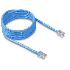 "Belkin, Patch Cable Rj-45 (M) Rj-45 (M) 7 Ft Cat 5E Molded Blue ""Product Category: Supplies & Accessories/Network Cables"""