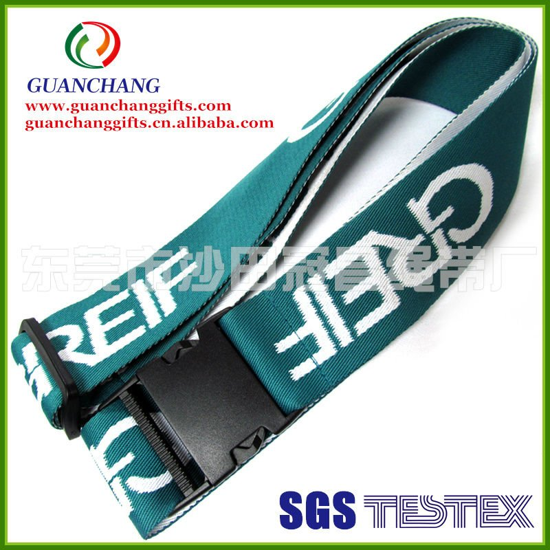Jacquard elastic luggage belt