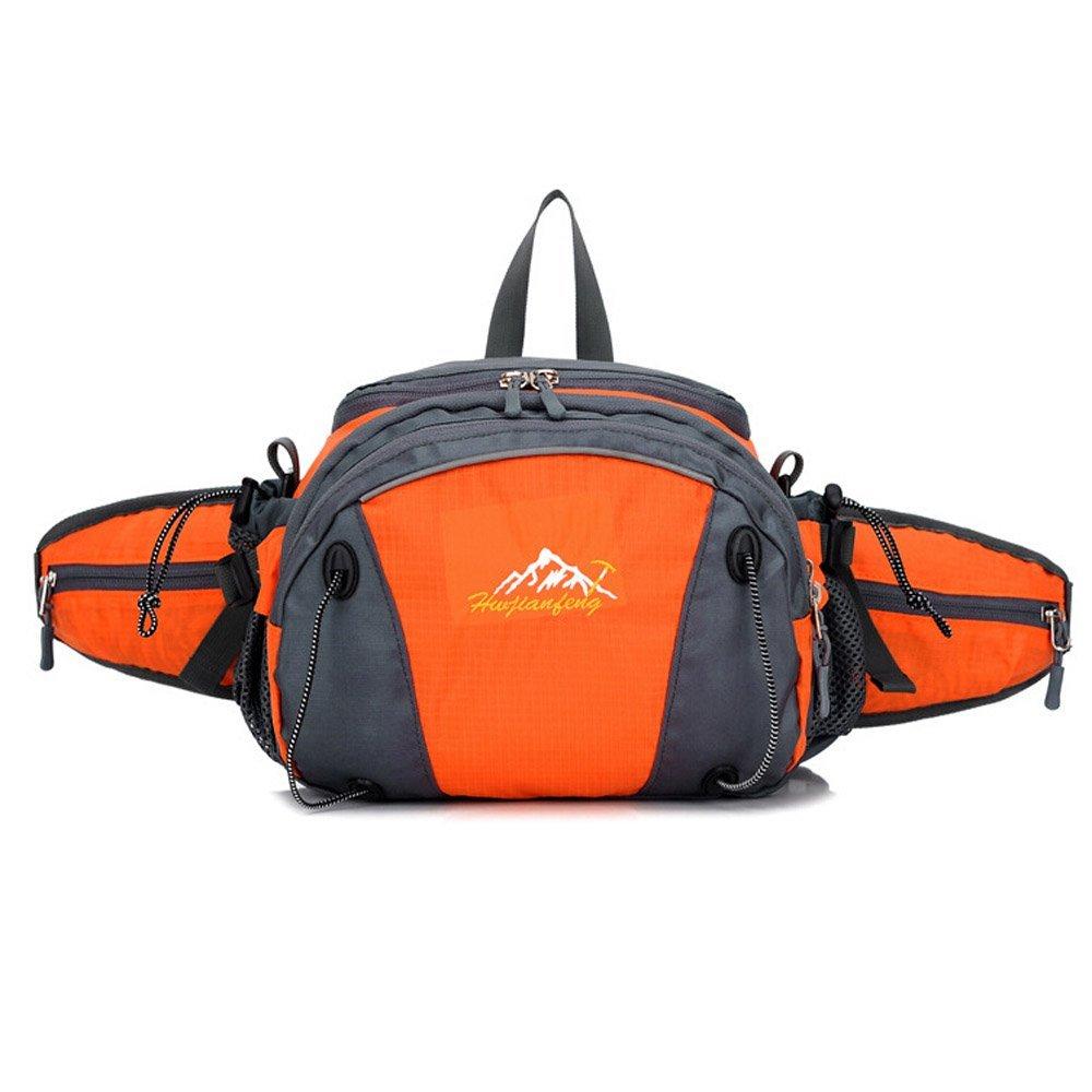 Lamdoo Men Military Belt Fanny Tactical Pack Shoulder Bag Waist Pouch Pack Phone Pocket/—Black