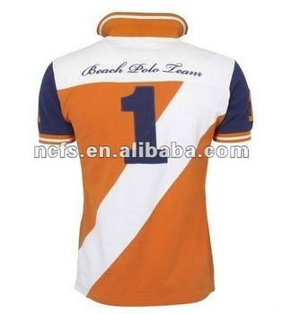 2012 summer New Fashion famous design piping polo shirts for men college uniform polo ,OEM