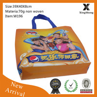 New style promotional cola drink non woven advertising bag
