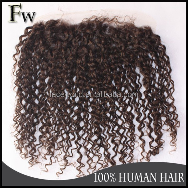 Lace frontal virgin hair raw unprocessed brazilian hair closure lace frontal 4c afro kinky curly human hair weave