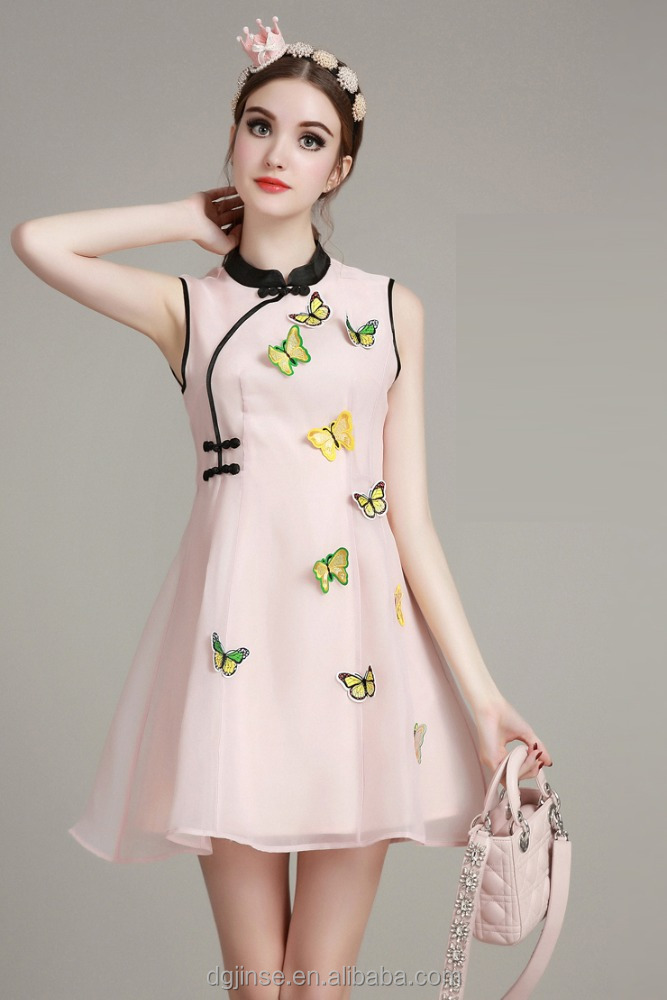 The new model fashion ladies dress latest design chinese traditional cheongsam qipao style dresses for women