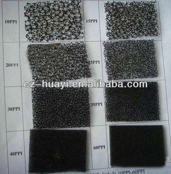 Sponge Filter Material Filter Foam Ppi Reticulated Pu Foam