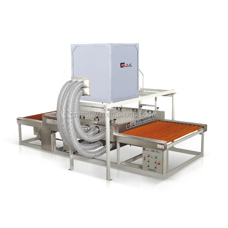 commercial Horizontal Glass Washing Machine for <strong>flat</strong>/curved/auto tempered glass panel
